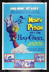 Monty Python And The Holy Grail 40x60 Cinemasterpieces Movie Poster 1975 Comedy