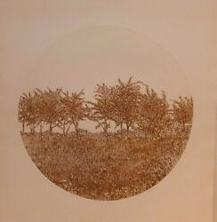 Ruth Leaf Another Time Round Print Etching Signed Limited Edition 48/275