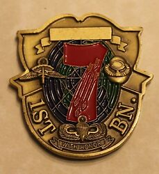 7th Special Forces Group Airborne 1st Battalion Army Challenge Coin
