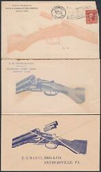 5 Different Shotguns Advertising Covers 2 Unused 3 Used Bs4693