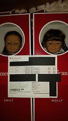 American Girl Molly And Emily Retired Doll Set.andnbsp