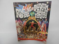 Vintage 1976 Ringling Bros. And Barnum And Bailey Circus Magazine/ Pull Out Poster