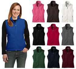 Ladies Fleece Vest Warm Winter Fall Christmas Gift Present Layers Cute Comfy
