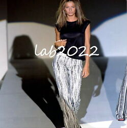 GUCCI Tom Ford  Beaded Runway Pants As Worn By Gisele