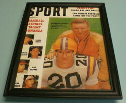 Lsu Billy Cannon And Paul Dietzel Framed Sport Print