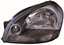 Manual Headlight Front Lamp Driver Side Left Lh Fits Hyundai Tucson 2004
