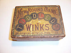 original tiddledy winks mcloughlin bros