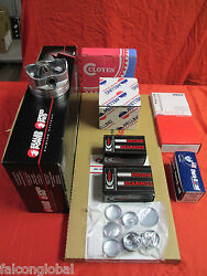 Chevy Gmc Truck 5.0 305 Engine Kit 1981-85 Pistons Double Roller Brass Plugs