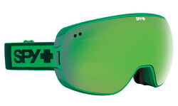 SPY DOOM GOGGLES ELEMENTAL GREEN FRAME BRONZE w/ GREEN SPECTRA + YELLOW CONTACT