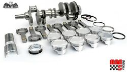 Gm Chevy Ls2 Lq9 6.0 4.000 Stroker Forged Rotating Assembly Mahle 9.01 Pistons