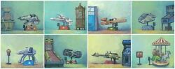 Star Wars Ships And Animals 70s And 80s Arcade Ride Artwork Giclandeacutees On Canvas