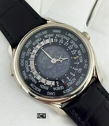 Patek Philippe 5575G 175th Anniversary White Gold World Time Limited Piece