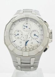 CONCORD SARATOGA GMT CHRONOGRAPH DUEL TIME LIMITED EDITION WATCH $8490 RETAIL