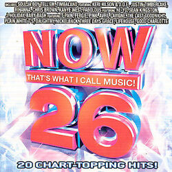 Now That#x27;s What I Call Music : Now 26 Pop 1 Disc CD