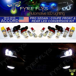 14x Super Bright 3014 Series Led Pro Front And Rear Upgrade Kit For 9th Gen Accord