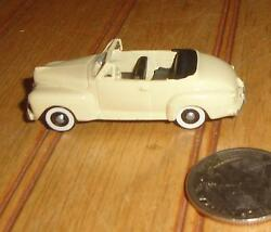 beige 1948 ford convertible ho scale alloy