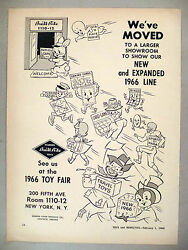 Built-rite Toy Print Ad - 1966 Toys, Games, Trade Show