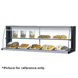 Turbo Air Tomd-40hw Open Dry Display Case W/ White Exterior Replaces Tomd-40-h