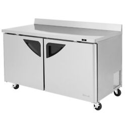 Turbo Air Twr-60sd-n 60 Worktop Refrigerator Two Section Replaces Twr-60sd