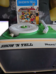 1980 show n tell phono viewer works 1968