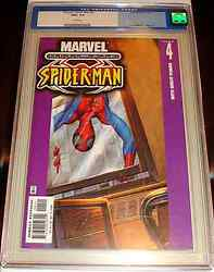 ULTIMATE SPIDERMAN 4 V1 CGC 9.6 RARE MARK BAGLEY COVER