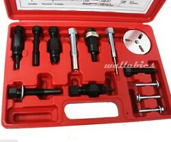New DELUXE AC COMPRESSOR CLUTCH HUB PULLER REMOVER INSTALLER AC TOOLS