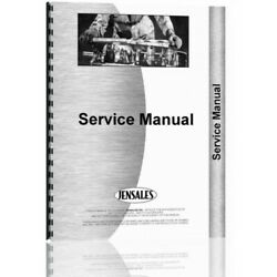 Ford 8000 8600 9000 9600 Tractor Service Manual Fo-s-8000+