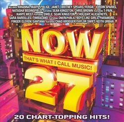 Various Artists : Now 27: That#x27;s What I Call Music Pop CD