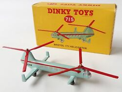 dinky toys 715 bristol 173 helicopter in
