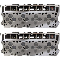 New Ford 6.0 Powerstroke Cylinder Heads 2 18mm Complete Loaded Set No Core