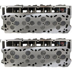 New Improved 6.0 Ford Powerstroke Diesel Loaded Cylinder Head Pair 03-07 No Core