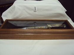 Harley Davidson Nos Collectible 100th Anniversary Bowie Knife Set