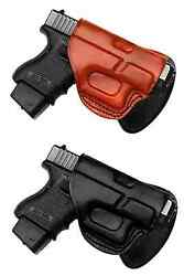 Tagua Leather Quick Draw Paddle Holster~ Choose Model and Color