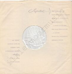 Vintage Inner Sleeve Or Sleeves 12 Use Emitex Made England Poly-lined Thin X 1