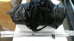 2007 G3 Boats Angler 167c Cover Open Box + 2 Poles And Straps Color = Black