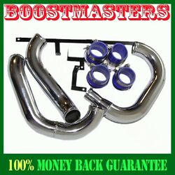 For 96-00 Mitsubishi Lancer Evo 4 5 6 Intercooler Piping+silicones+clamps