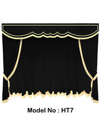 Home Theater Stage CurtainPhotographyEvent Shows Velvet Curtains 12'W x 8'H