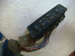 Original 87 - 93 Mustang Driver Door Window And Lock Switches And Controls 14a564