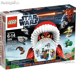 Lego Star Wars 9509 Advent Calendar 2012 - Authentic Factory Sealed Brand New