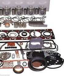 Toyota 4p Forklift Engine Kit Gas 1.5l Pistons Gaskets Bearings Rings Usa Ship