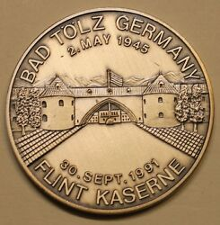7th Corps 10th Special Forces Bad Tölz Ser - 0282 Army Challenge Coin