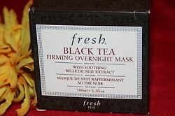Fresh Black Tea Firming Overnight Mask Full Size 3.3 Ounces In Box Authentic