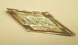 Vintage Baker Murray Nassau And Imbrie Inc New York Bicycle Head Badge Emblem