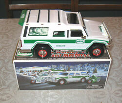 Hess Sport Utility Truck And 2 Motos With Box 2004 Free Shipping