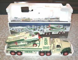 Hess Gasoline Truck And Airplane 2002 Free Shipping