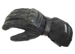 Gerbing XR12 Hybrid 12v Heated Leather Waterproof Motorcycle Motorbike Gloves