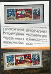 Israel Scott 1041 Ardon Windows Special Folder With Perf And Imperf S/s Mnh