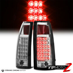 [best Selling] Euro Clear Philips Led Tail Lights 1988-1998 Gmc Truck Suburban