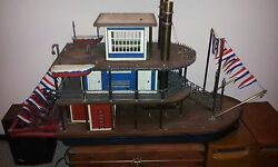Michael Ricker Pewter Riverboat - Park City Queen