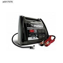 Portable Auto Charger Air Compressor Emergency Battery Jump Starter ACDCUSB